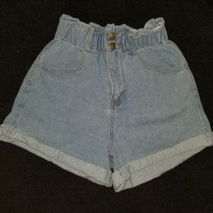 Forever 21 Shorts - Light Demin Shorts